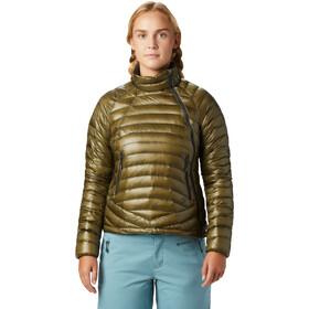 Mountain Hardwear Ghost Whisperer S Jacket Dame Combat Green